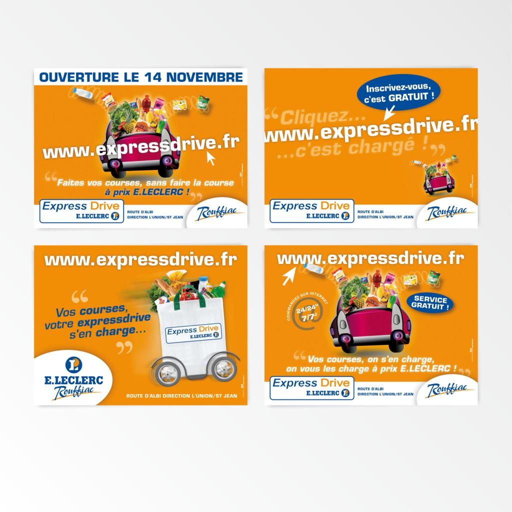 E.Leclerc | Campagne affichage | 4x3 - 120x176
