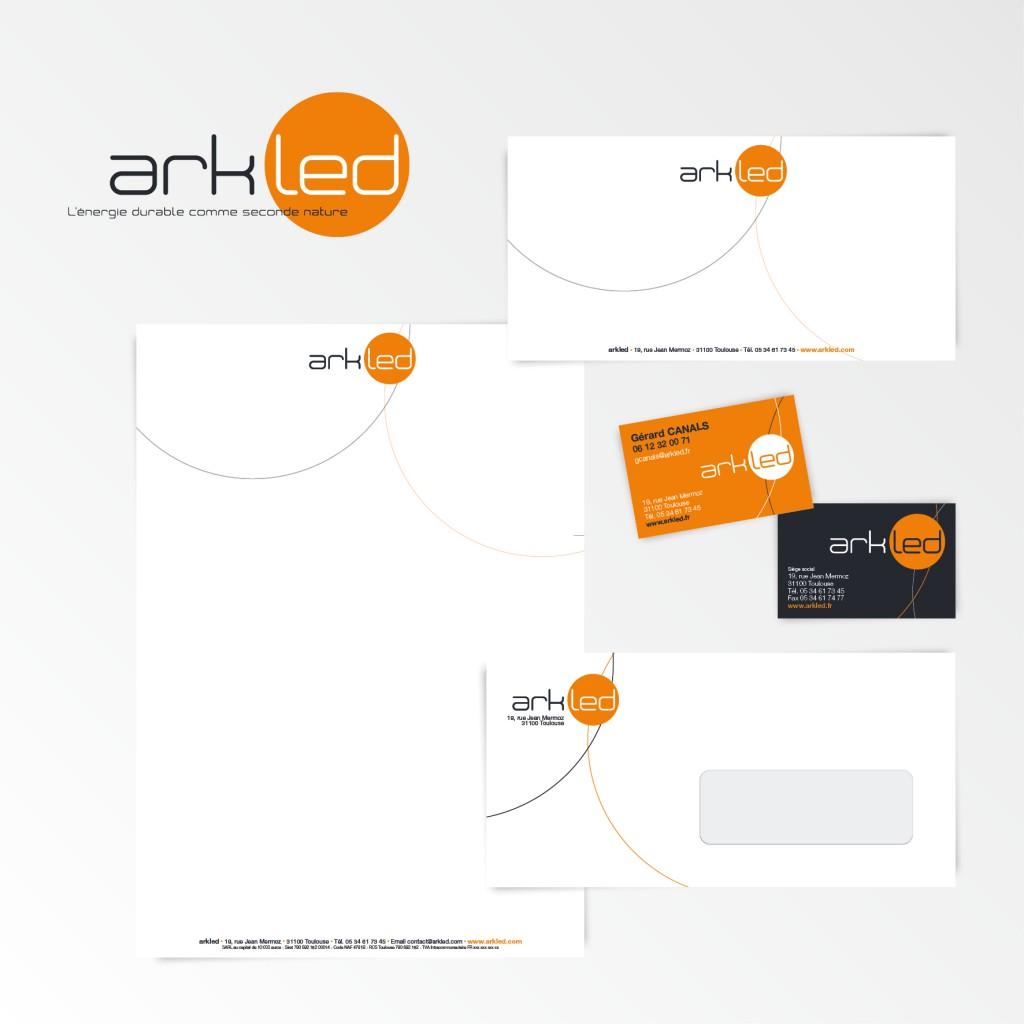 Arkled | Création du logotype et charte graphique