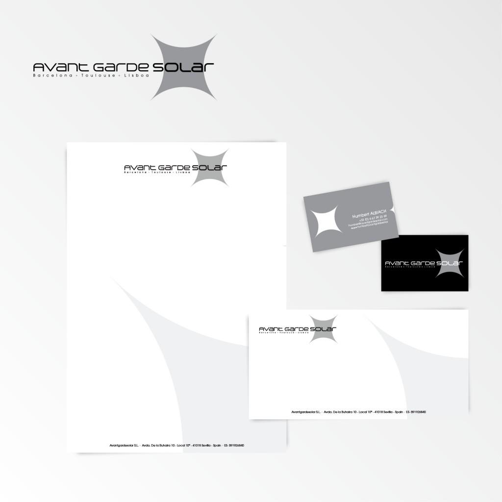 Avant Garde Solar | Création du logotype et charte graphique