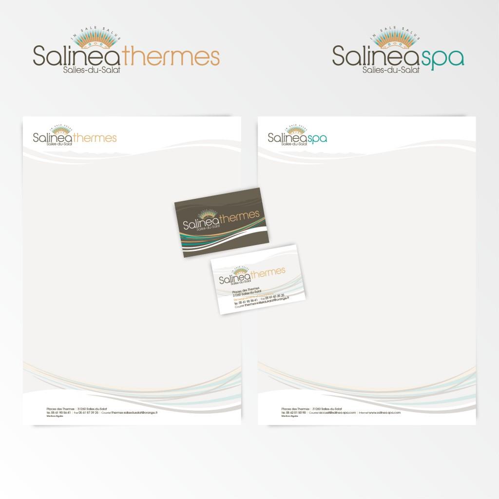 Salies du Salat | Création du logotype et charte graphique