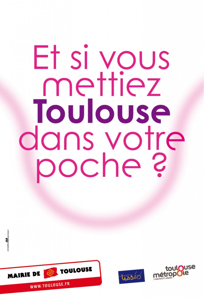 Mairie de Toulouse | Campagne affichage (teaser) | 120x176 - 240x176