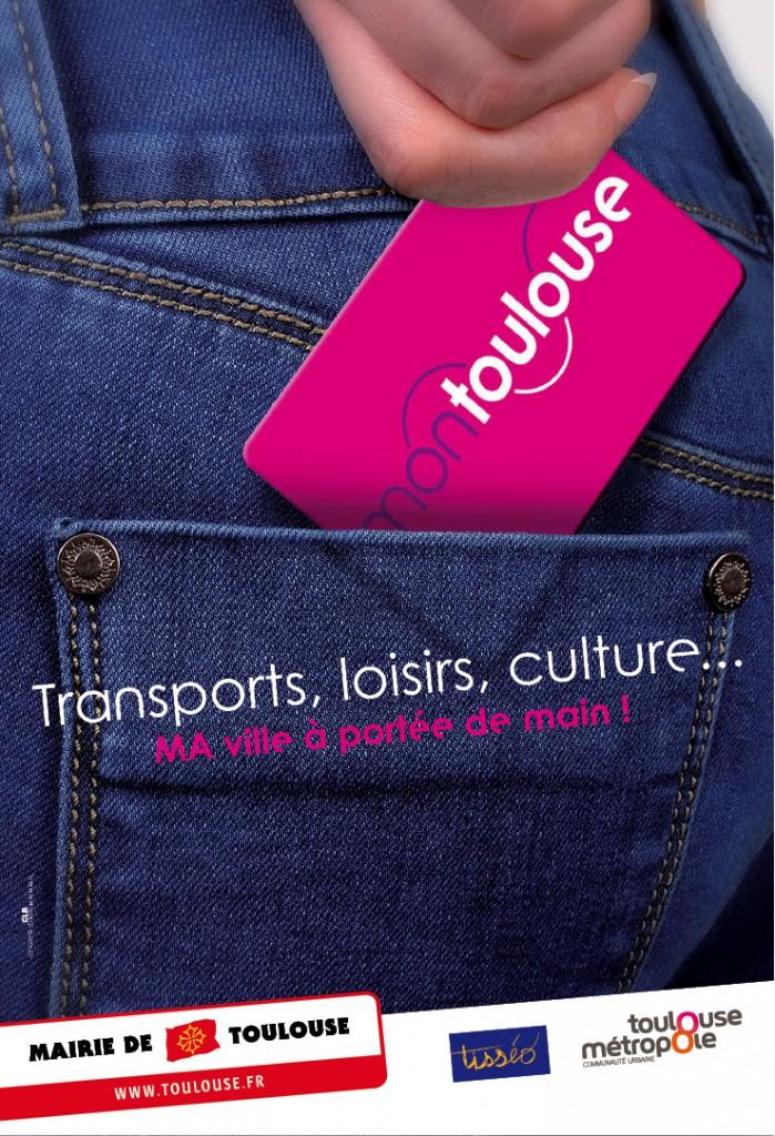Mairie de Toulouse | Campagne affichage (révélation) | 120x176 - 240x176